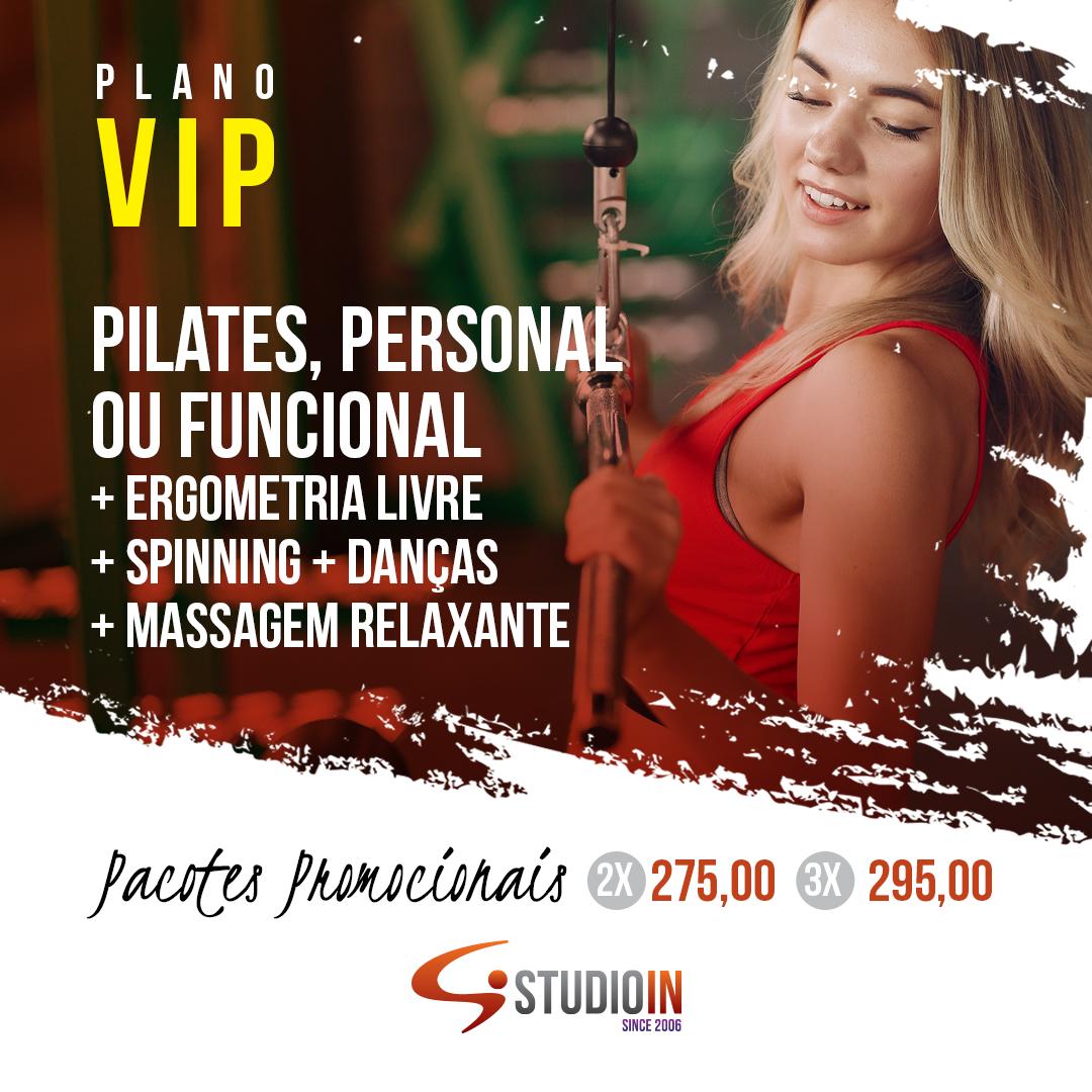 Plano VIP: para os clientes mais exigentes.