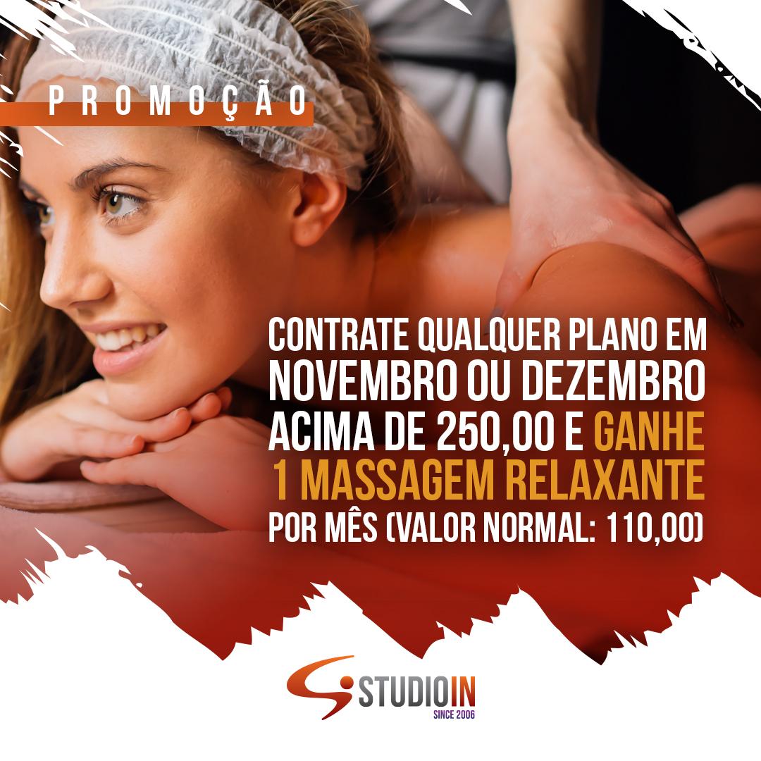 Promoção: Ganhe uma Massagem Relaxante